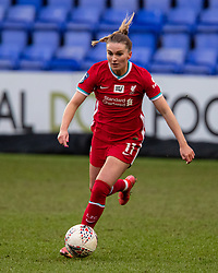 BIRKENHEAD, ENGLAND - Sunday, March 14, 2021: Liverpool's Melissa Lawley during the FA Women's Championship game between Liverpool FC Women and Coventry United Ladies FC at Prenton Park. Liverpool won 5-0. (Pic by David Rawcliffe/Propaganda)