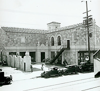 1932 Hollywood Forever Cemetery under construction