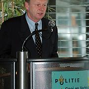 Installatie managmentteam politie Gooi & Vechtstreek, burgemeester Hilversum dhr. Bakker