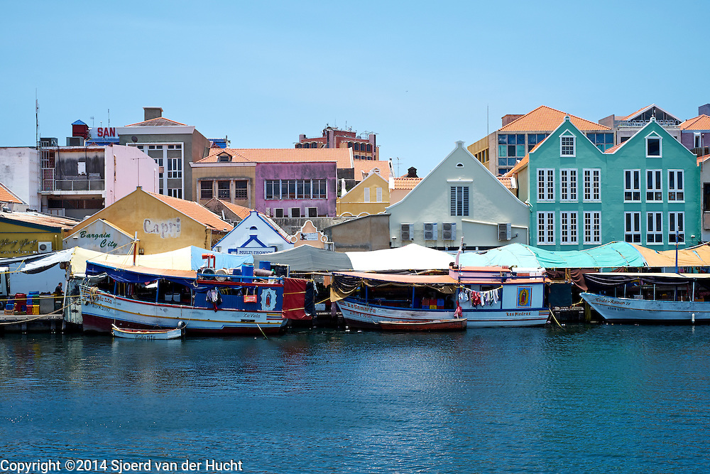 Drijvende markt Punda, Curaçao 2014 - Floating market, Punda, Curaçao 2014