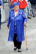 Prinsjesdag 2014 - Aankomst Politici op het Binnenhof.<br /> <br /> Op de foto:  Erica Terpstra