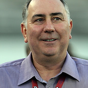 Orlando City team owner Phil Rawlins during a United Soccer League Pro soccer match between Puerto Rico United and the Orlando City Lions at the Florida Citrus Bowl on April 22, 2011 in Orlando, Florida.  (AP Photo/Alex Menendez)