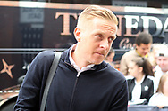 Middlesbrough Manager Garry Monk arrives at Craven Cottage ahead of today's game. EFL Skybet championship match, Fulham v Middlesbrough at Craven Cottage in London on Saturday 23rd September 2017<br /> pic by Steffan Bowen, Andrew Orchard sports photography.