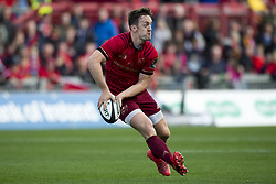 September 9, 2017 - Limerick, Ireland - Darren Sweetnam of Munster runs with the ball during the Guinness PRO14 rugby match between Munster Rugby and Cheetahs Rugby at Thomond Park in Limerick, Ireland on September 9, 2017  (Credit Image: © Andrew Surma/NurPhoto via ZUMA Press)