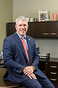 Bill Jones, president of WellCare of Kentucky, photographed Wednesday, Jan. 17, 2018 at WellCare Health Plans, Inc., Kentucky market office, One Triton Office Park, 13551 Triton Park Blvd. Suite 1200, in Louisville, Ky. (Photo by Brian Bohannon)