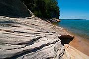 Landscape photographs of Lake Superior, Pictured Rocks National Lakeshore, Michigan, USA