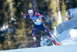 Simon Eder of Austria during the IBU World Championships Biathlon 20km Individual Men competition on February 17, 2021 in Pokljuka, Slovenia. Photo by Primoz Lovric / Sportida