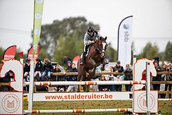 Dierickx Lente, BEL, Ikkepuk v't Plutoniahof<br /> Nationaal Tornooi LRV Ponies<br /> Zonnebeke 2019<br /> © Hippo Foto - Dirk Caremans<br />  29/09/2019