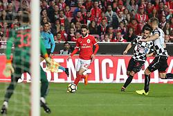 February 17, 2018 - Lisbon, Lisbon, Portugal - Benficas forward Rafa Silva from Portugal during the Premier League 2017/18 match between SL Benfica v Boavista FC, at Luz Stadium in Lisbon on February 17, 2018. (Credit Image: © Dpi/NurPhoto via ZUMA Press)