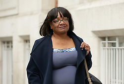 """File photo dated 11/05/17 of Diane Abbott, who has revealed that she has Type 2 diabetes that was """"out of control"""" during the General Election campaign, as she hit out at the """"terrible"""" targeting of her by the Tories."""