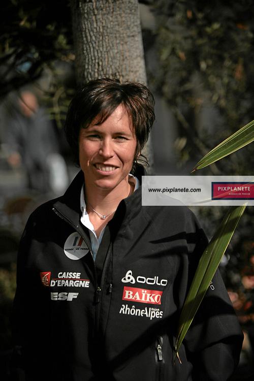 Karine Laurent Philippot - Ski de fond - présentation de l'équipe de France de ski 2007-2008 - Photos exclusives - 9/10/2007 - JSB / PixPlanete