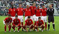 Photo: Paul Thomas.<br /> Estonia v England. UEFA European Championships Qualifying, Group E. 06/06/2007.<br /> <br /> England.