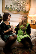 SHARON STIRLING; CLEMENTINE FRASER, Book launch for American's in Paris by Charles Glass hosted by Lady Annabel Lindsay. Holland Park. London. 25 March 2009 *** Local Caption *** -DO NOT ARCHIVE-© Copyright Photograph by Dafydd Jones. 248 Clapham Rd. London SW9 0PZ. Tel 0207 820 0771. www.dafjones.com.<br /> SHARON STIRLING; CLEMENTINE FRASER, Book launch for American's in Paris by Charles Glass hosted by Lady Annabel Lindsay. Holland Park. London. 25 March 2009