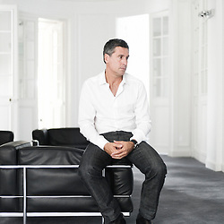 PARIS, FRANCE. JULY 2010, 29..Marc Simoncini, Meetic's founder, in his office. (photo by Antoine Doyen)