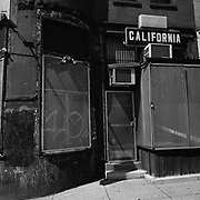 Storefront on 18th Street NW and California Ave. NW in the Adams Morgan neighbourhood of Washington D.C., USA.<br /> <br /> (Credit Image: © Louie Palu/ZUMA Press)