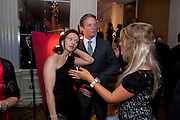 DERVLA KIRWAN; RUPERT PENRY-JONES, Specsavers Crime Thriller Awards.  Award ceremony celebrating the best in crime fiction and television. <br /> Grosvenor House Hotel, Park Lane, London. 21 October 2009