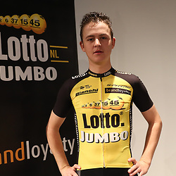 22-12-2016: Wielrennen: Presentatie Lotto Jumbo: Rijswijk<br /> Antwan Tolhoek maakte de overstap naar Lotto-Jumbo