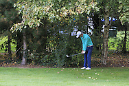 Tom Murray (ENG) in the rough for the second time on the 15th during Round 3 of the Volopa Irish Challenge in Tullow, Co. Carlow on Saturday 10th October 2015.<br /> Picture:  Thos Caffrey / www.golffile.ie