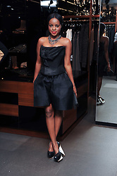 KEISHA BUCHANAN at a party hosted by InStyle to celebrate the iconic glamour of Dolce & Gabbana held at D&G, 6 Old Bond Street, London on 3rd November 2010.