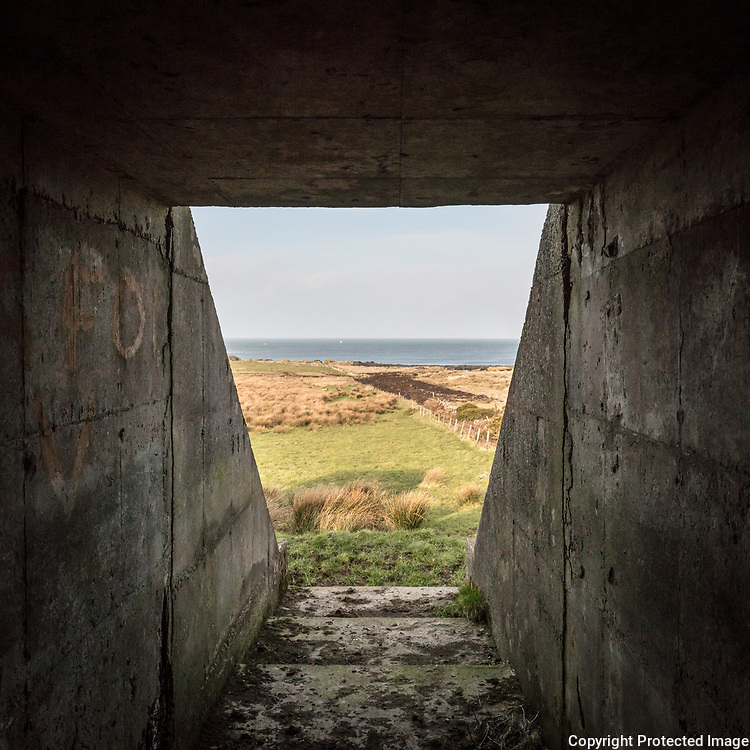 RAF North Cairn I, WWII Chain Home Radar Station bunker, Dumfries and Galloway, Scotland.