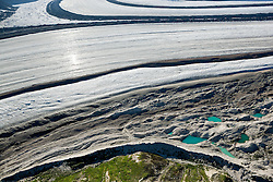 Kaskawulsh Glacier detail, Yukon