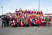 Happy Santas at Padua Community Services