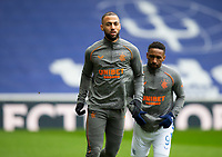 Football - 2020 / 2021 Scottish FA Cup - Round 3 - Glasgow Rangers vs Cove Rangers - Ibrox Stadium<br /> <br /> Kemar Roofe of Rangers during the warm up<br /> <br /> Credit : COLORSPORT/BRUCE WHITE