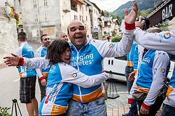 16-09-2017 FRA: BvdGF Tour du Mont Blanc day 7, Beaufort<br /> De laatste etappe waar we starten eindigen we ook weer naar een prachtige route langs de Mt. Blanc / Carlos, Beatriz