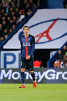 Angel Di Maria (psg) during the French Championship Ligue 1 football match between Paris Saint Germain and ES Troyes AC on November 28, 2015 at Parc des Princes stadium in Paris, France. Photo Stephane Allaman / DPPI