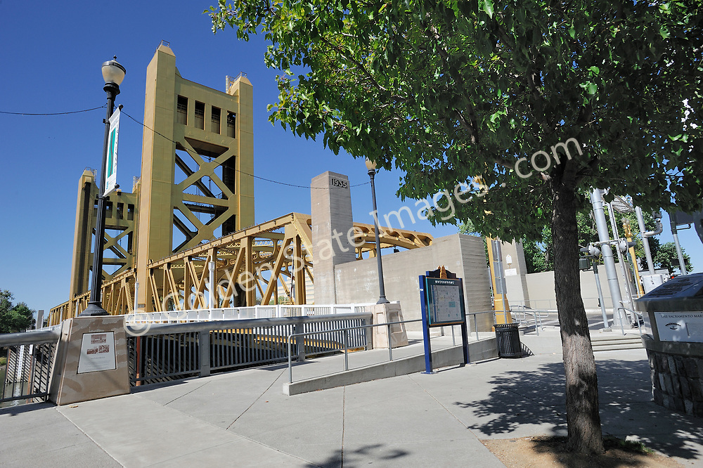 The Tower bridge is the iconic structure of downtown Sacramento.<br /> <br /> Completed in 1935 Spans the Sacramento River.