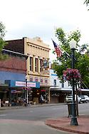 Downtown Centralia, Washington State
