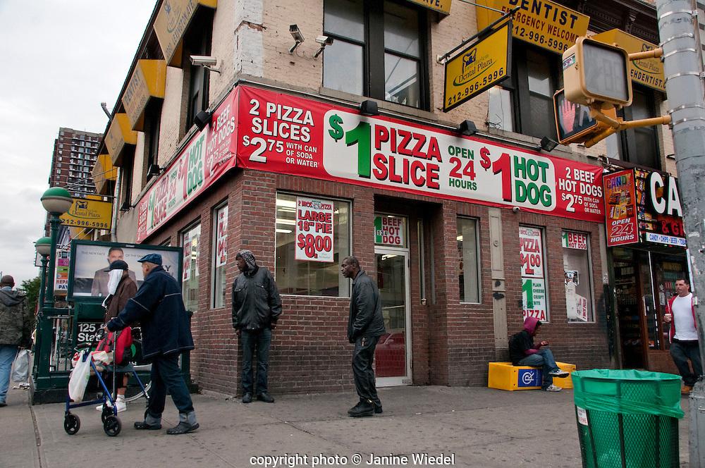 East Harlem 125th Street New York City