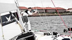 Onboard with Mathieu Richard vs Peter Gilmour. Danish Open 2010, Bornholm, Denmark. World Match Racing Tour. photo: Loris von Siebenthal - myimage