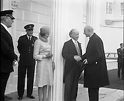 President Childers Inaugerated     (F26)..1973..25.06.1973..06.25.1973..25th June 1973..After his inaugeration President Childers returned to take up residence in Áras an Uachtaráin,Phoenix Park, Dublin.