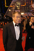 John Hurt. arrive at the 2006 BAFTA Awards at the Leicester Square Odeon Cinema in London. 19 February 2006.  -DO NOT ARCHIVE-© Copyright Photograph by Dafydd Jones 66 Stockwell Park Rd. London SW9 0DA Tel 020 7733 0108 www.dafjones.com