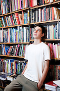 Belo Horizonte_MG, Brasil.<br /> <br /> Na foto, o jovem escritor Ciro Trevisan, 17 anos. Autor do livro Devenir.<br /> <br /> In the photo, the young writer Ciro Trevisan.  He is author of the book Devenir.<br /> <br /> Foto: NIDIN SANCHES / NITRO