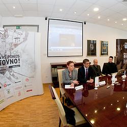 20110330: SLO, Ice Hockey - Press conference of Ice Hockey Federation of Slovenia