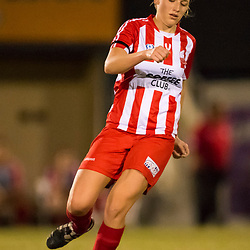 BRISBANE, AUSTRALIA - JUNE 18:  during the round 11 PlayStation 4 National Premier Leagues Queensland Women's match between Olympic FC and Eastern Suburbs on June 18, 2017 in Brisbane, Australia. (Photo by Patrick Leigh)