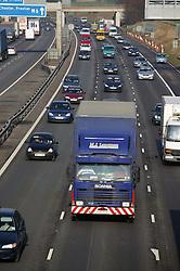 M6 Motorway near Knutsford Services; Cheshire,