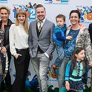NLD/Amsterdam/20140406 - Inloop filmpremière Rio 2, cast, stemmencast,