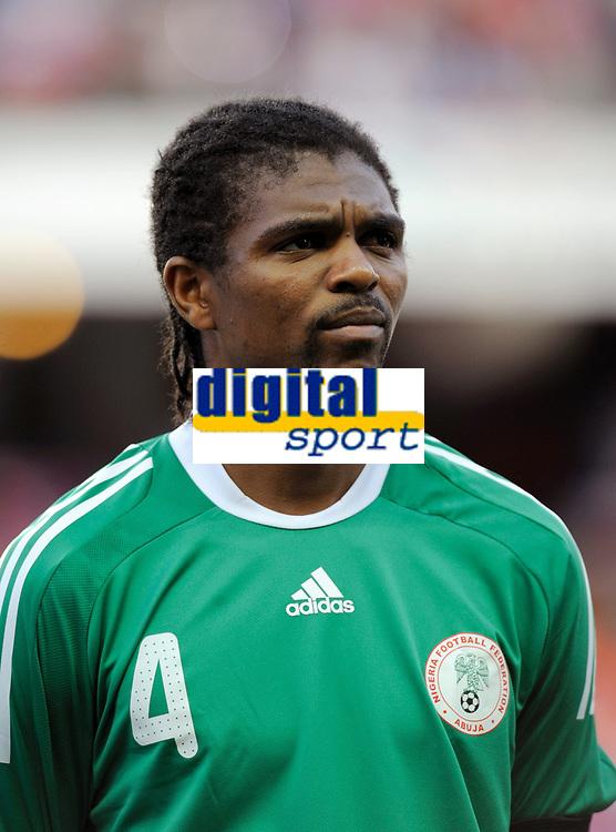Fotball<br /> Frankrike v Nigeria<br /> Foto: DPPI/Digitalsport<br /> NORWAY ONLY<br /> <br /> FOOTBALL - FRIENDLY GAMES 2008/2009 - FRANCE v NIGERIA - 2/06/2009<br /> <br /> NWANKWO KANU (NIG)