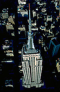 Empire State Building, designed by Shreve, Lamb & Harmon, William F. Lamb as chief designer (&Gregory Johnson), aerial
