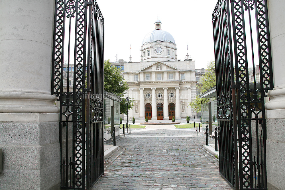 Government buildings in Dublin Ireland