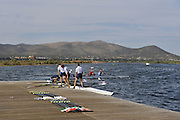 , Rowing Course; Lake Schinias Olympic Rowing Course. GREECE