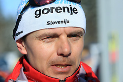 Coach Ivan Hudac at 10th OPA - Continental Cup 2008-2009, on January 17, 2009, in Rogla, Slovenia.  (Photo by Vid Ponikvar / Sportida)