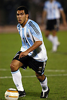 17/07/04 - CHICLAYO - PERU - COPA AMERICA PERU 2004 -<br />Argentine Player N*11 CARLOS TEVEZ.<br />© Gabriel Piko /Argenpress.com<br /><br /> Quarterfinals match of the Copa America<br /> 2004 - PERU (0) VS. ARGENTINA (1)<br />© Gabriel Piko /Argenpress.com