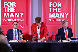 The two contenders for Scottish Labour leader, Anas Sarwar and Richard Leonard, took part in a debate in Edinburgh.<br /> <br /> © Dave Johnston/ EEm