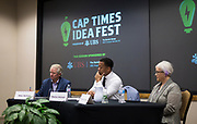 "Panel discussion ""What Should the Fire Department of the Future Look Like?"" During the Cap Times Idea Fest 2018 at the Pyle Center in Madison, Wisconsin, Saturday, Sept. 29, 2018."
