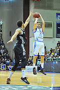 DESCRIZIONE : Eurocup 2013/14 Gr. J Dinamo Banco di Sardegna Sassari -  Brose Basket Bamberg<br /> GIOCATORE : Travis Diener<br /> CATEGORIA : Tiro Tre Punti<br /> SQUADRA : Dinamo Banco di Sardegna Sassari <br /> EVENTO : Eurocup 2013/2014<br /> GARA : Dinamo Banco di Sardegna Sassari -  Brose Basket Bamberg<br /> DATA : 19/02/2014<br /> SPORT : Pallacanestro <br /> AUTORE : Agenzia Ciamillo-Castoria / Luigi Canu<br /> Galleria : Eurocup 2013/2014<br /> Fotonotizia : Eurocup 2013/14 Gr. J Dinamo Banco di Sardegna Sassari - Brose Basket Bamberg<br /> Predefinita :