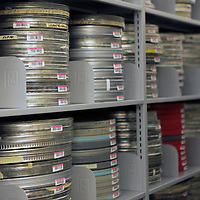 USA, Massachusetts, Boston. Archives at WGBH Studios.